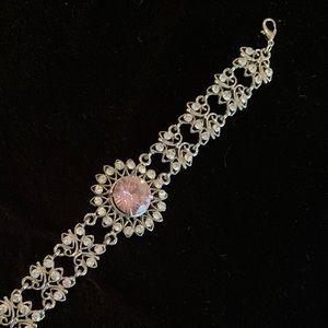 Jewelry - 🆕🔥Pink Crystal Bracelet - Very Shiny